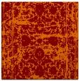 rug #1079454 | square red-orange faded rug