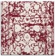 rug #1079474   square pink damask rug