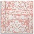 rug #1079482 | square white damask rug