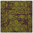 rug #1079490 | square purple damask rug