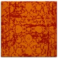 rug #1079506 | square red traditional rug