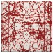 rug #1079510 | square red traditional rug