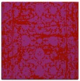 rug #1079514 | square red traditional rug