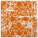 rug #1079530 | square red-orange faded rug