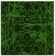 rug #1079534 | square light-green traditional rug