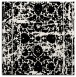 rug #1079538 | square white faded rug