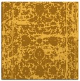 rug #1079578 | square yellow traditional rug