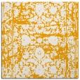 rug #1079602 | square light-orange damask rug