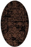 rug #1079634 | oval traditional rug