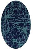 rug #1079652 | oval traditional rug