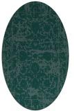 rug #1079661 | oval traditional rug