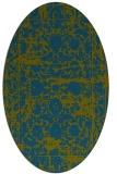 rug #1079699 | oval traditional rug