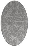rug #1079837 | oval damask rug
