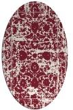 rug #1079843   oval faded rug