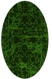 rug #1079902 | oval light-green faded rug