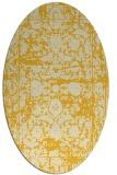 rug #1079935 | oval damask rug