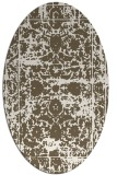 rug #1079941 | oval damask rug
