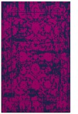 rug #1080022 |  blue damask rug