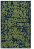 rug #1080030 |  green traditional rug