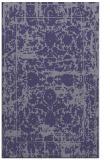 rug #1080078 |  blue-violet faded rug