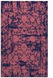 rug #1080082 |  blue-violet traditional rug