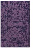 rug #1080086 |  blue-violet faded rug