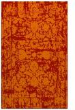 rug #1080242 |  orange popular rug