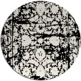 rug #1080358 | round faded rug