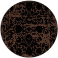 rug #1080371 | round faded rug