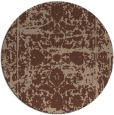 rug #1080372 | round faded rug