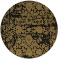 rug #1080382 | round mid-brown traditional rug