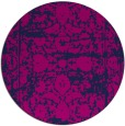rug #1080390 | round blue traditional rug