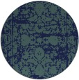 rug #1080394 | round blue traditional rug