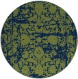rug #1080398 | round blue faded rug