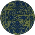 rug #1080399 | round faded rug