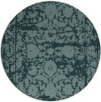 rug #1080433 | round faded rug