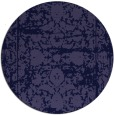 rug #1080442 | round faded rug