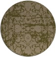 rug #1080470 | round brown faded rug