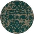 rug #1080473 | round damask rug