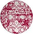 rug #1080474 | round damask rug