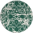 rug #1080491 | round faded rug