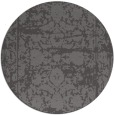 rug #1080506 | round brown faded rug