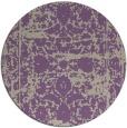 rug #1080538 | round beige damask rug