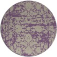 rug #1080539 | round faded rug