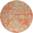 rug #1080566 | round beige faded rug