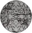 rug #1080570 | round orange faded rug