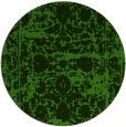 rug #1080638 | round light-green damask rug