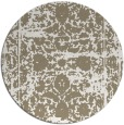 rug #1080666 | round faded rug