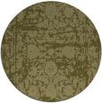 rug #1080702 | round light-green damask rug