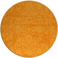 rug #1080714 | round light-orange faded rug